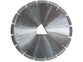 Diamond Blades for Soft-cut Sawing